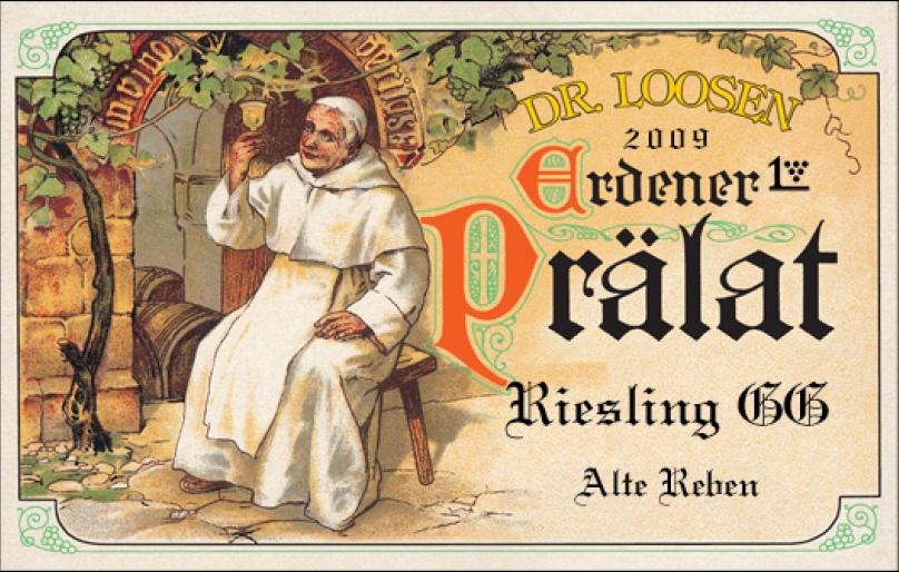 Etikett Dr. Loosen Erdener Prälat