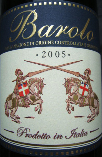 Etikett 2005 Barolo D.O.C.G. - Lidl