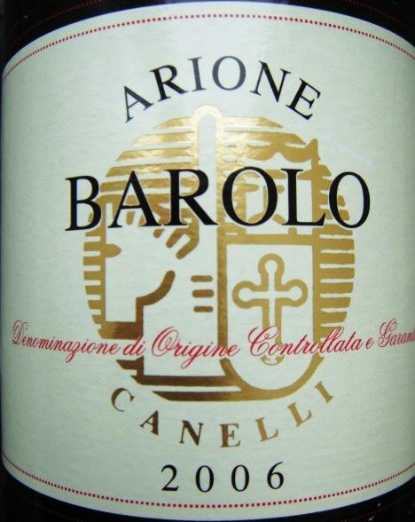 Etikett 2006 Barolo D.O.C.G. - Aldi