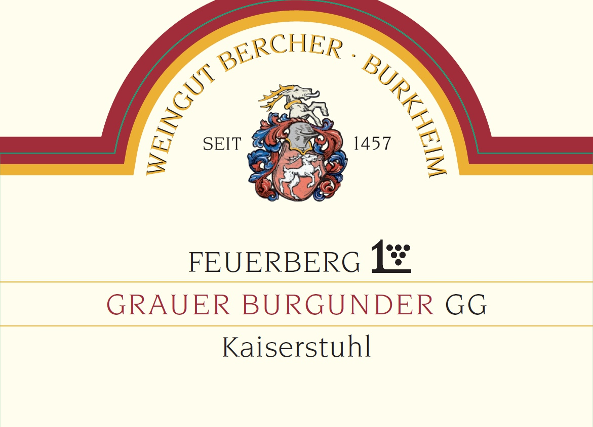 Etikett Bercher GG Feuerberg