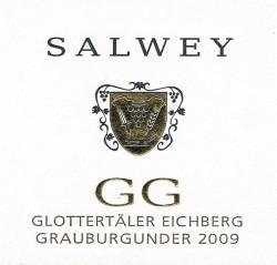 Etikett Salwey GG Glottertäler Eichberg 2009 vorne