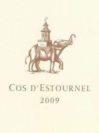 Etikett 2009 Cos D'Estournel