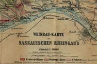 Lagenkarte Rheingau von 1867