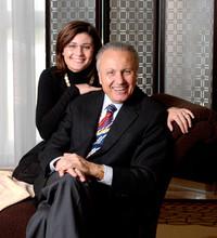 Angelo Gaja und Tochter Gaia