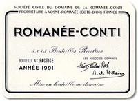 Etikett Romanée-Conti