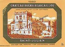 Etikett Chateau Ducru-Beaucaillou