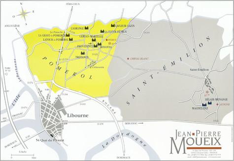 Karte Moueix