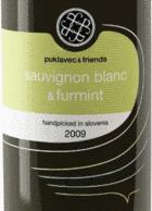 puklavec & friends 2009 Sauvignon Blanc & Furmint