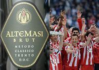 Etikett Altemassi Brut / Meisterfeier FCB