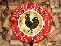 Collage Logo Chianti classico und Korken