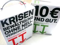 Pappboxen mit 3-Liter-Folienschlauch für den Wein