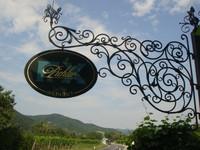 Schild des Weinguts F.X. Pichler
