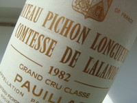 1982 Pichon Lalande