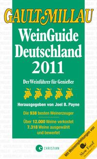 Cover Gault Millau WeinGuide Deutschland 2011