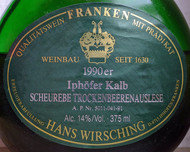 Etikett Scheurebe Iphoefer Kalb tba von Wirsching
