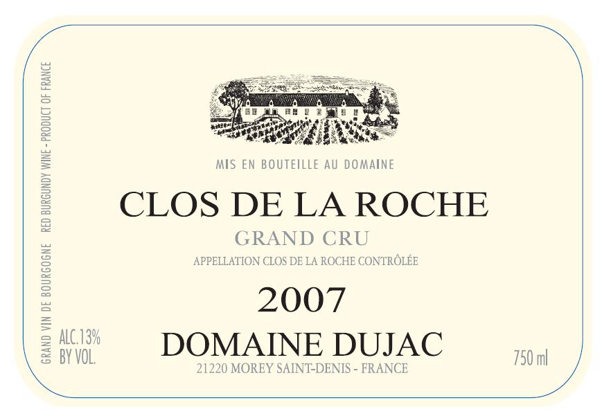 Etikett 1999 Clos Saint-Denis Grand Cru - Domaine Dujac