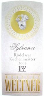 Etikett 2009 Roedelseer Kuechenmeister Sylvaner Grosses Gewaechs