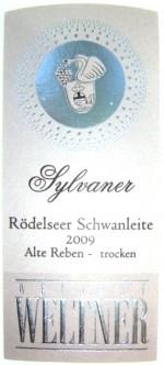 Etikett 2009 Roedelseer Schwanleite Alte Reben Sylvaner Kabinett trocken