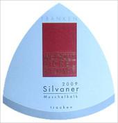 """Etikett 2009 Silvaner Kabinett trocken """"Muschelkalk"""" - Weingut Bickel-Stumpf"""