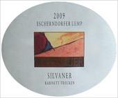 Etikett 2009 Escherndorfer Lump Silvaner Kabinett trocken - Horst Sauer