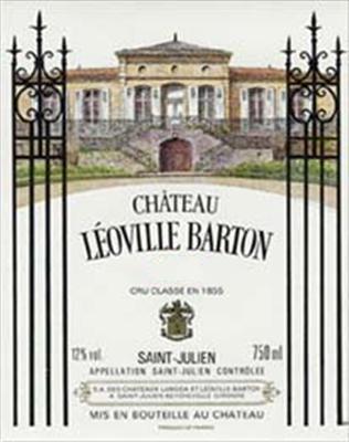 Etikett 2008 Bordeaux Chateau Léoville Barton