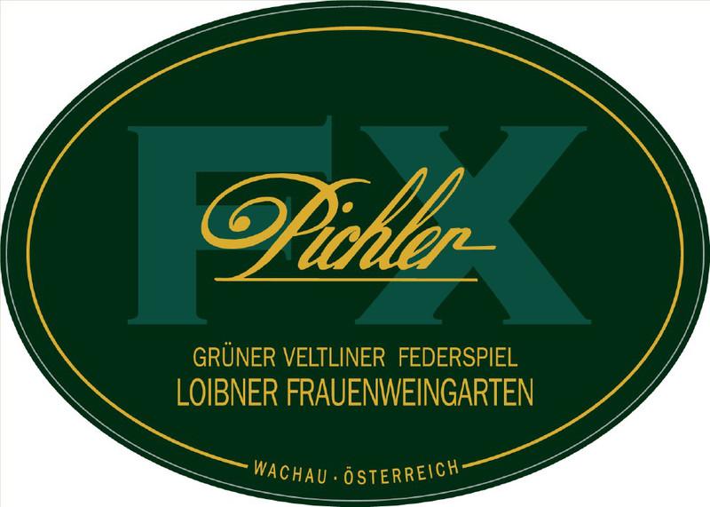 Etikett 2009 Grüner Veltliner Frauenweingarten Federspiel - F.X. Pichler