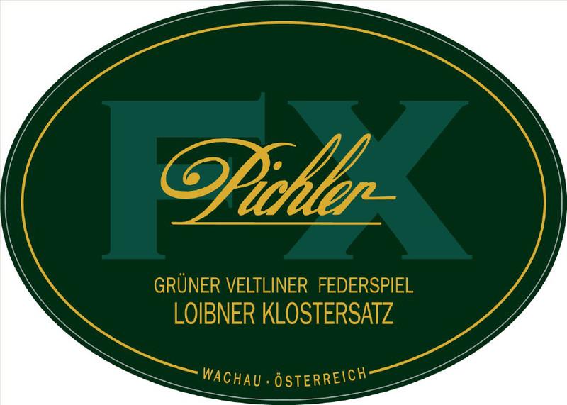 Etikett 2009 Grüner Veltliner Klostersatz Federspiel - F.X. Pichler