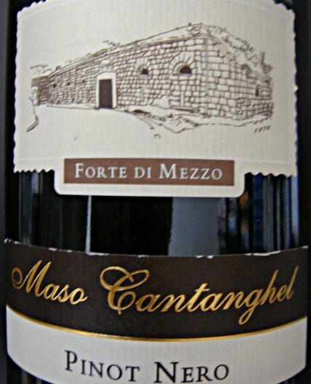 Etikett 2007 Pinot Nero Trentino - Maso Cantanghel-Cantine Monfort