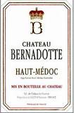 Etikett 2001 Château Bernadotte, Haut-Médoc