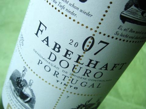 Etikett 2007 Fabelhaft Reserva Douro