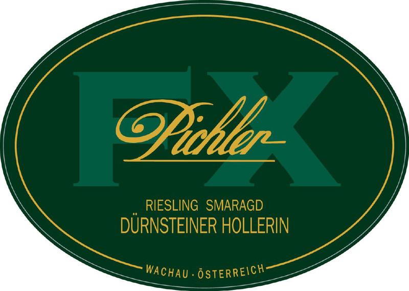 Etikett 2009 Riesling Hollerin Smaragd - F.X. Pichler