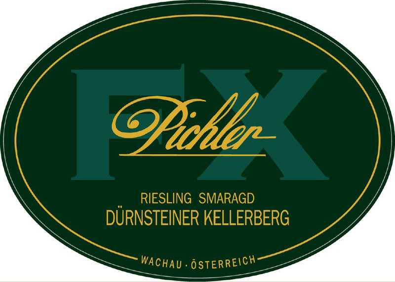 Etikett 2009 Riesling Kellerberg Smaragd - F.X. Pichler