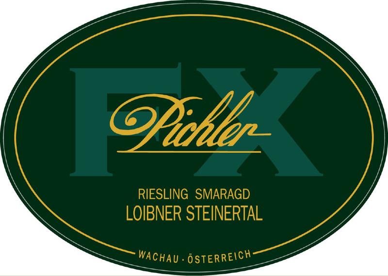 Etikett 2009 Riesling Steinertal Smaragd - F.X. Pichler