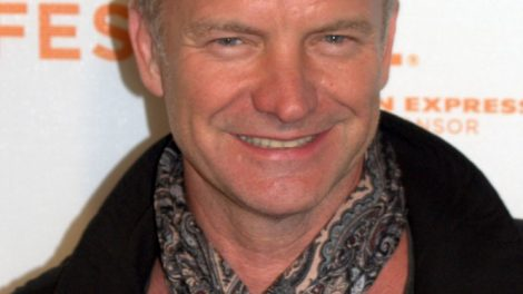 Sting at the 2009 Tribeca Film Festival