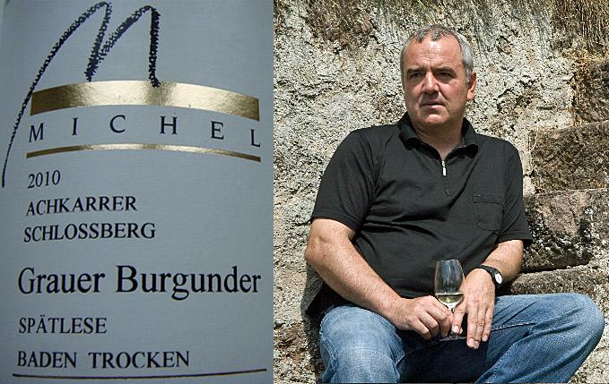 Collage Josef Michel und sein 2010 Achkarrer Schlossberg