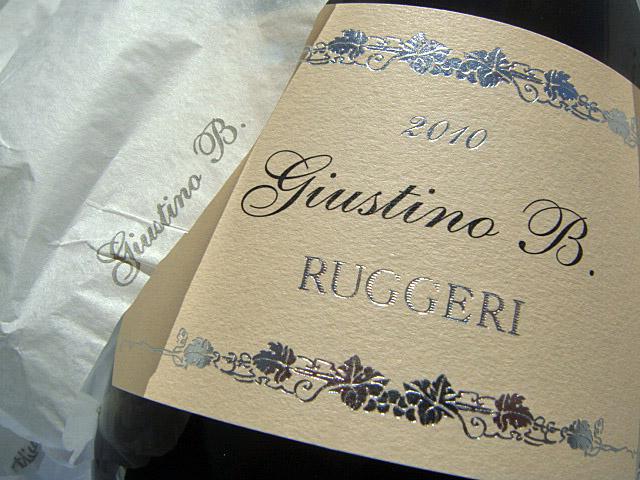 Etikett Giustino B. - Ruggeri