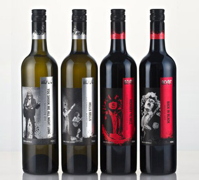 AC/DC Weinkollektion