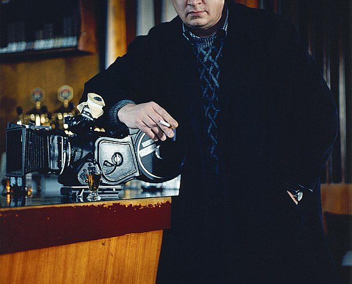 Der finnische Regisseur Aki Kaurismaeki