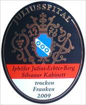 Etikett 2009 Iphöfer Julius-Echter-Berg Silvaner Kabinett trocken - Juliusspital