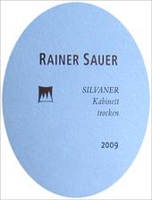 Etikett 2009 Escherndorfer Lump Silvaner Kabinett trocken - Rainer Sauer