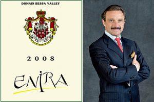 Collage Stephan von Neipperg und sein 2008 Enira