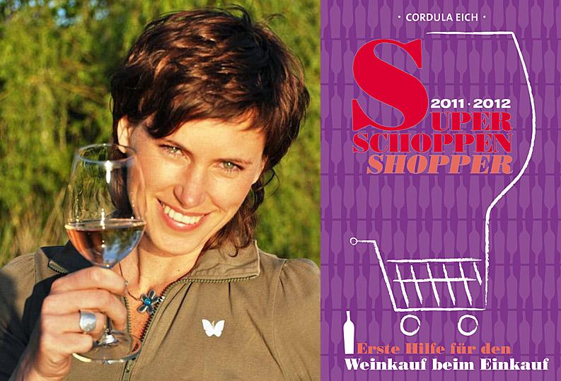 """Collage Cordula Eich und ihr neues Buch """"Super Schoppen Shopper"""""""