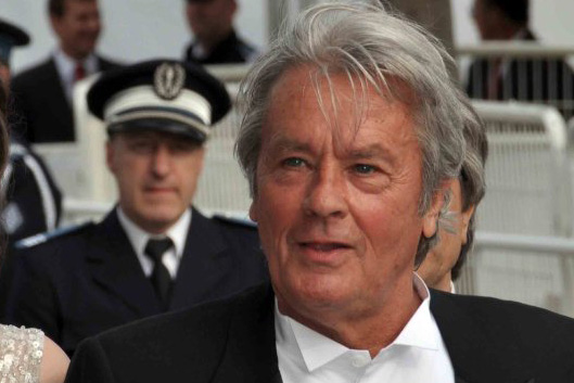Alain Delon in Cannes 2010