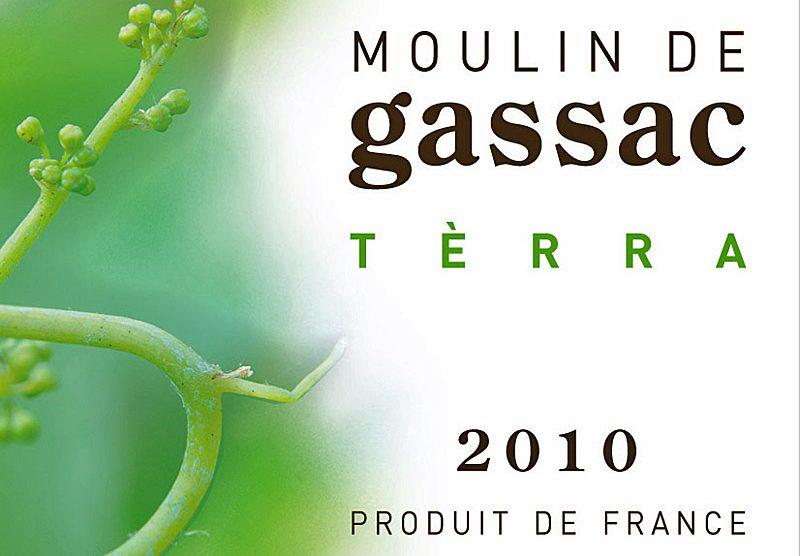 Etikett 2010 Terra - Moulin de Gassac