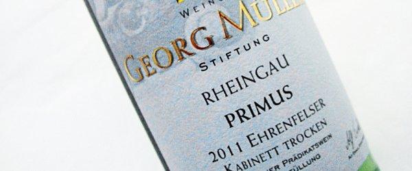 2011 Ehrenfelser Kabinett trocken - Weingut Georg Mueller