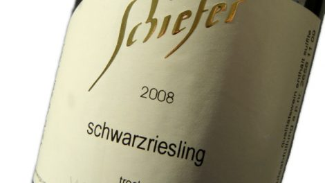 2008 Schwarzriesling trocken - Weingut Schiefer