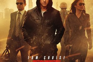 """Filmplakat """"Mission Impossible 4"""" 