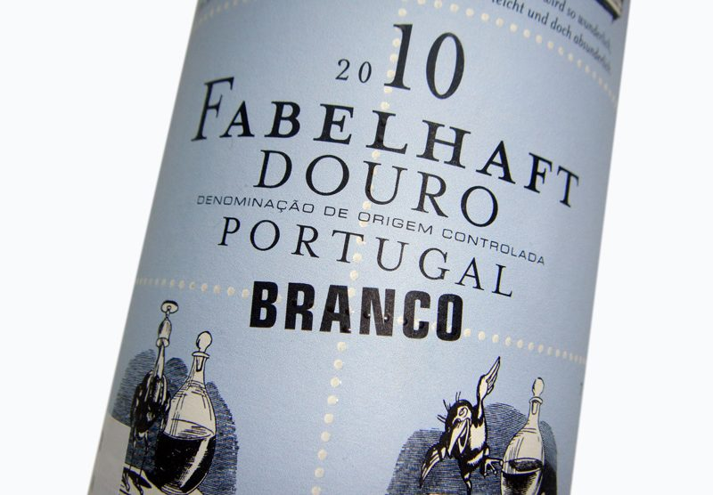 Etikett 2009 Fabelhaft Douro Branco