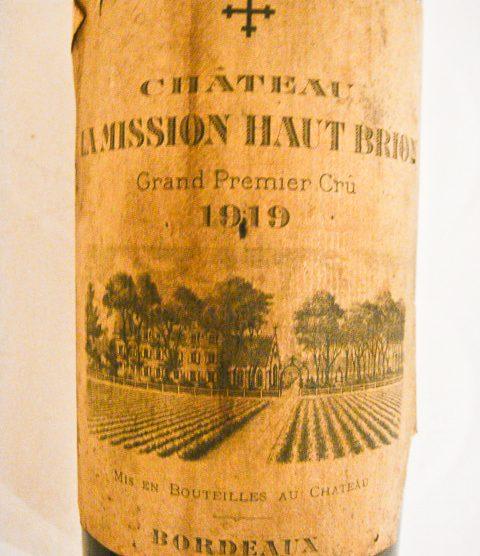 1919 Chateau La Mission Haut-Brion