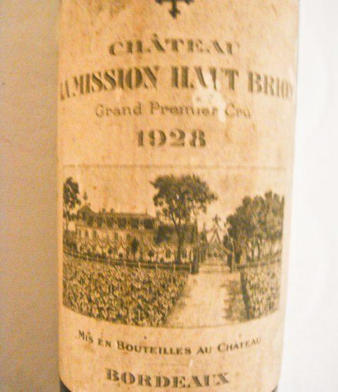 1928 Chateau La Mission Haut-Brion